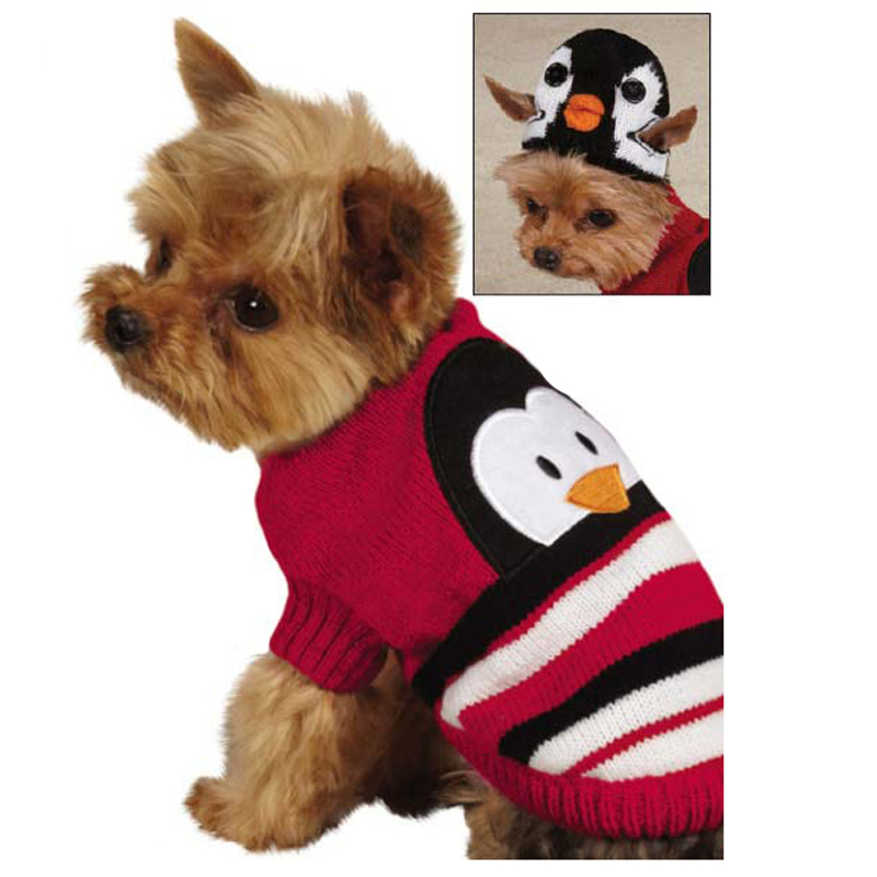 Winter weather can be pretty brutal sometimes. Make sure your pup is covered from the cold elements with an adorable Dog Sweater! We've got a huge selection of knit sweaters with tons of different colors, patterns, and materials so you can be sure to find the best sweater for your best furry friend!