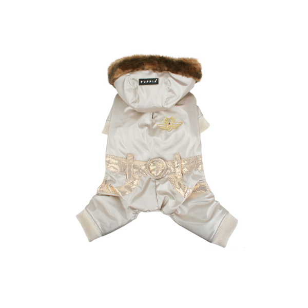 Pilot Winter Jumpsuit by Puppia - Gold