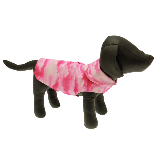 Pink Cloud Dog Raincoat