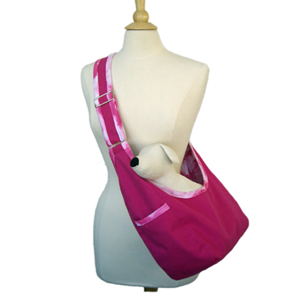 Pink Cloud Spot Sack Pet Carrier