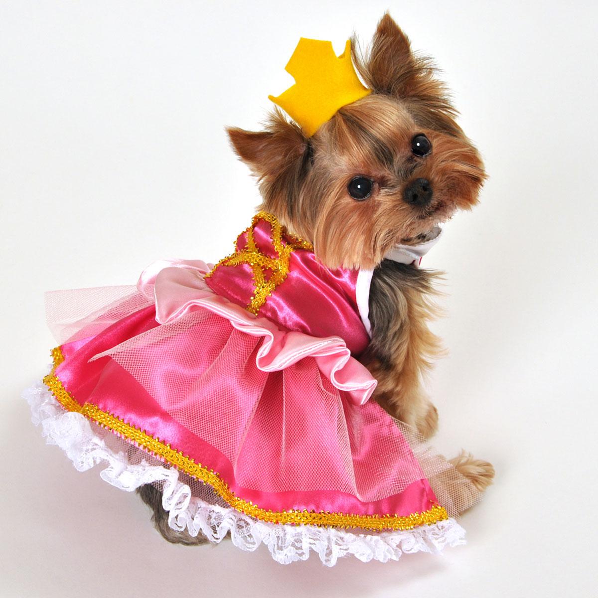 Pink Princess Halloween Dog Costume