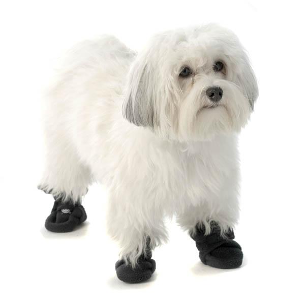 Piper's Fleece Dog Booties - Navy