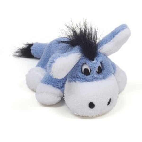PipSqueaks Talking Donkey Dog Toy