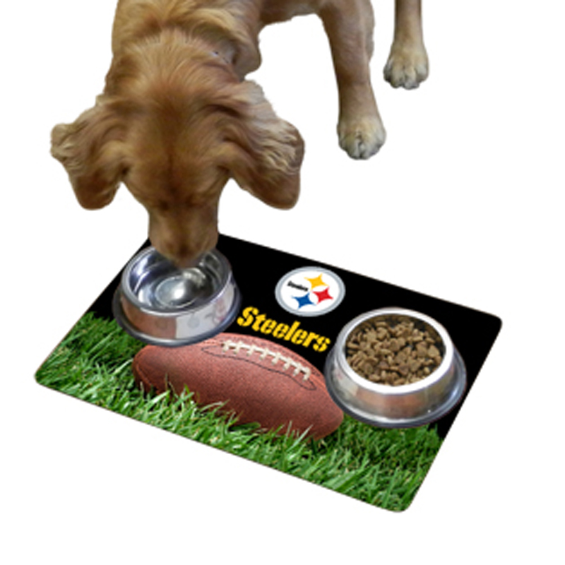 Pittsburgh Steelers Pet Bowl Mat