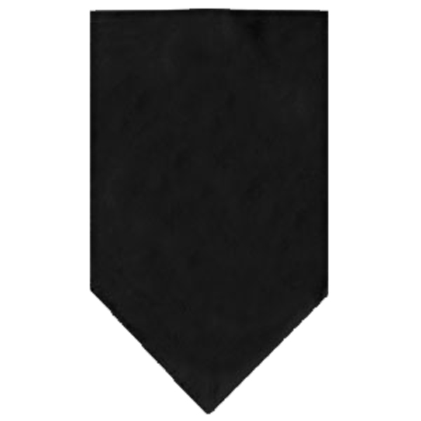 Plain Dog Bandana - Black