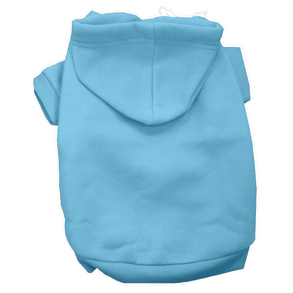 Plain Dog Hoodie - Baby Blue