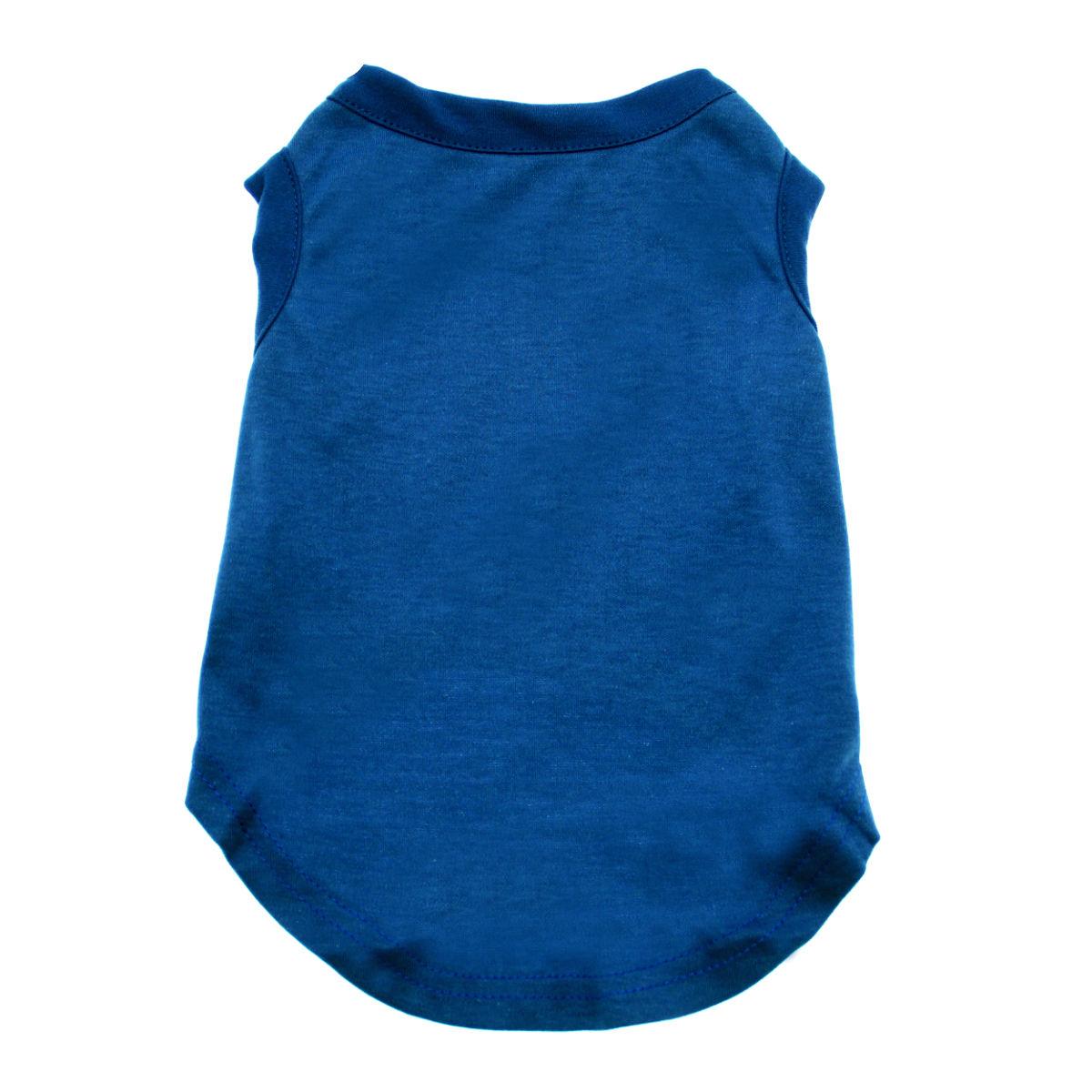 Plain Dog Shirt - Blue