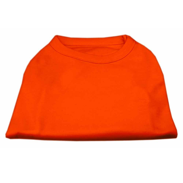 Plain Dog Shirt - Orange