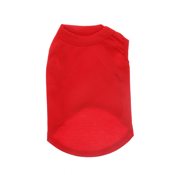 Plain Dog Shirt - Red