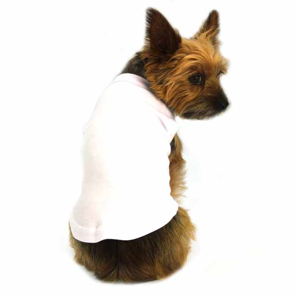 Plain Dog Shirt - White
