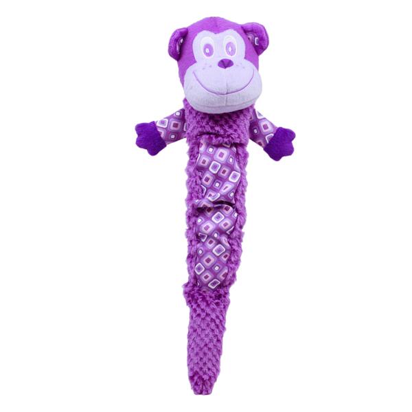 Plush Puppies Shakeables Dog Toy - Monkey