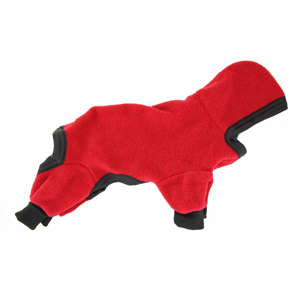 Polarctic Fleece Jumpsuit - Red