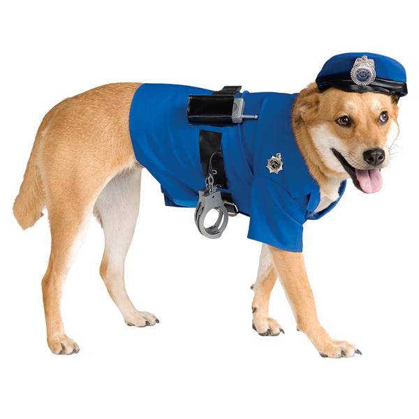 Police Dog Halloween Costume Baxterboo