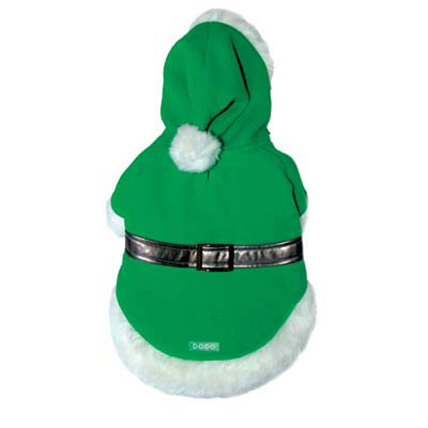 Pom Pom Elf Coat by Dogo - Green