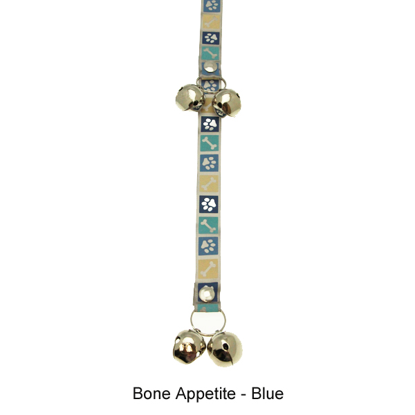 Poochie Bells Dog Doorbell - Classic Personality Designs