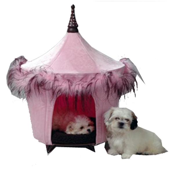 Posh & Pink Dog Bed Tent