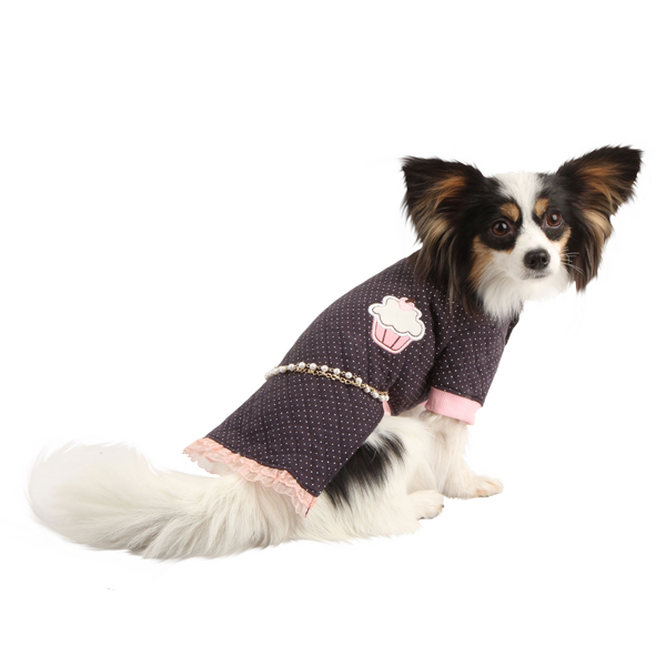 Precious Dog Dress by Pinkaholic - Navy