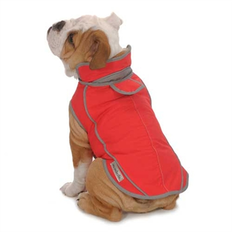 Precision Fit Dog Parka - Red