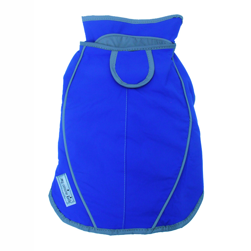 Precision Fit Dog Parka - Royal Blue