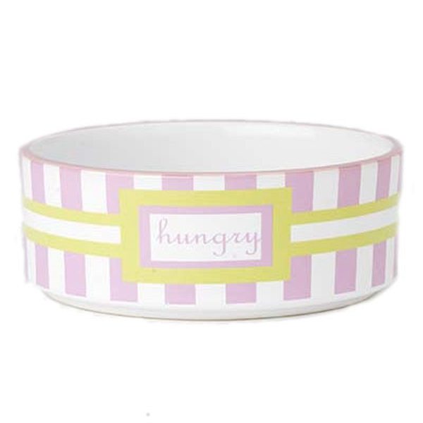 Preppy Pet Hungry Dog Bowl