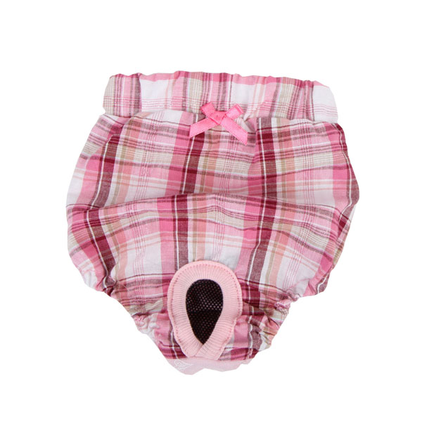 Pre-School Dog Sanitary Pants by Pinkaholic - Pink