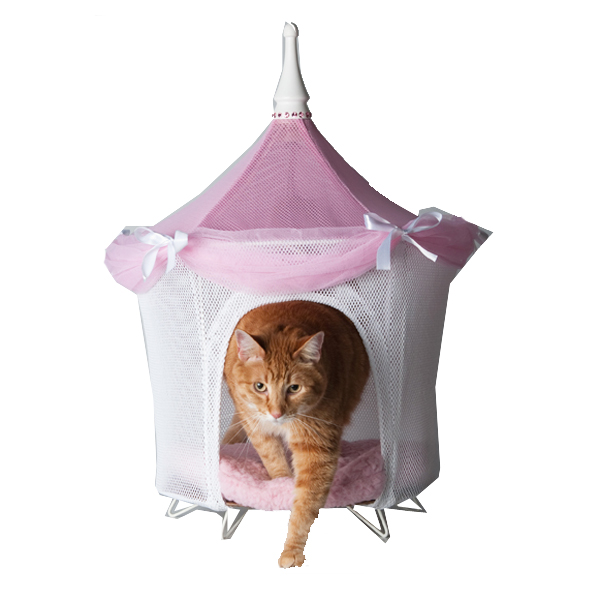 Pretty in Pink Bed Tent