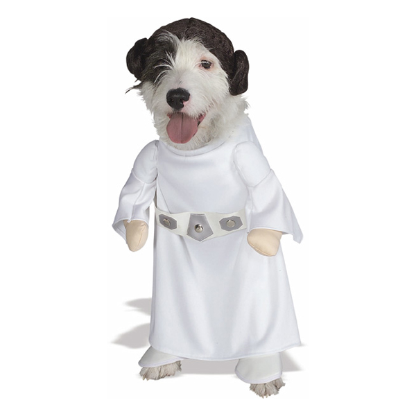 Princess Leia Dog Halloween Costume