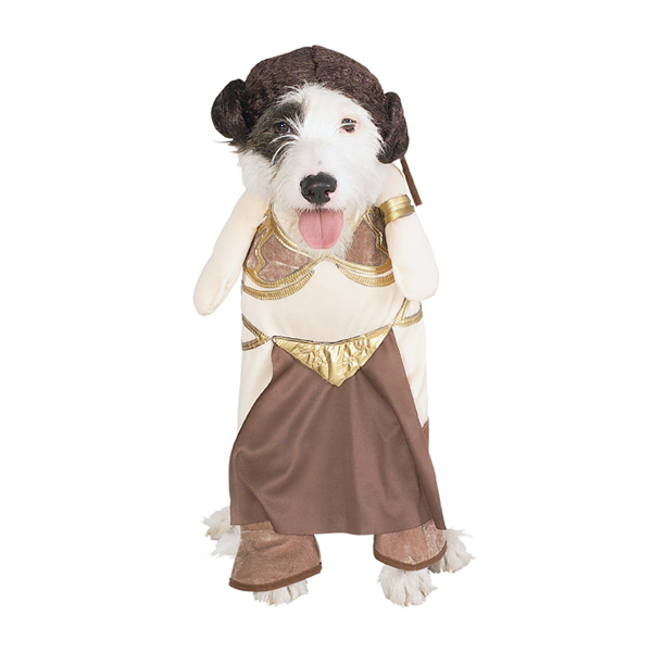 Princess Leia Slave Girl Dog Halloween Costume