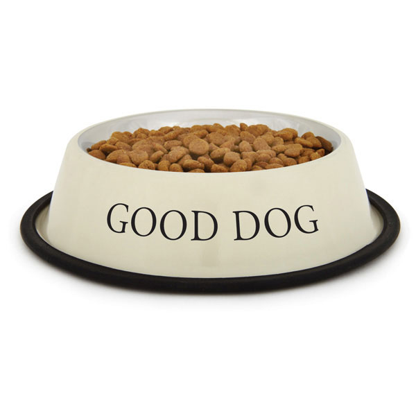 ProSelect 'Good Dog' Bowl - Ivory