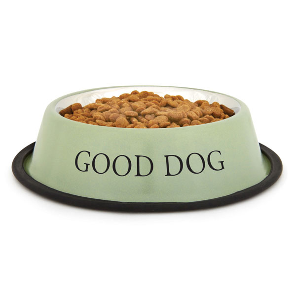 ProSelect 'Good Dog' Bowl - Sage Green