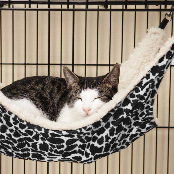 ProSelect Wild Time Cage  Hammock Cat Bed - Black