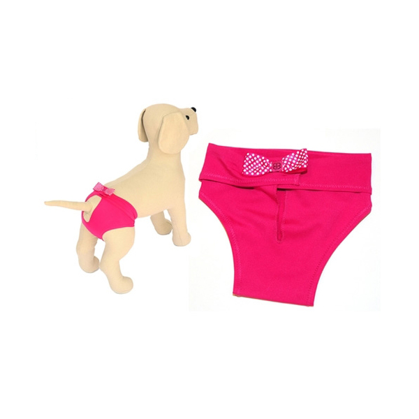 Protective Hot Pants for Dogs - Pink