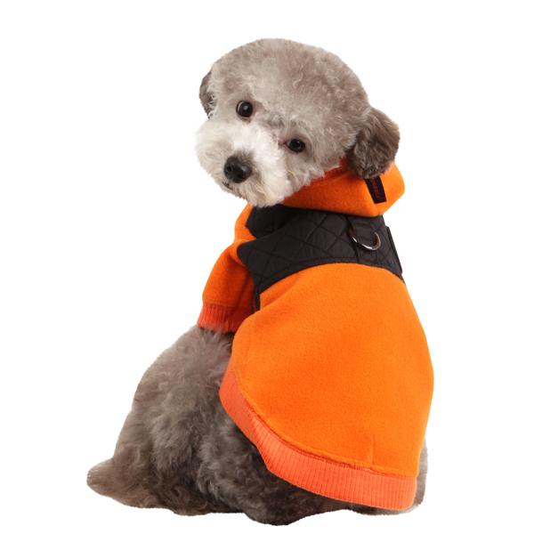Puppia Mode Dog Hoodie - Orange