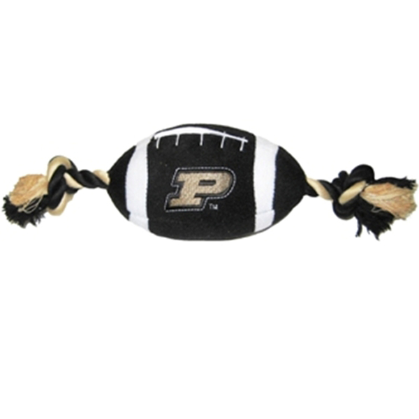 Purdue Boilermakers Plush Football Dog Toy