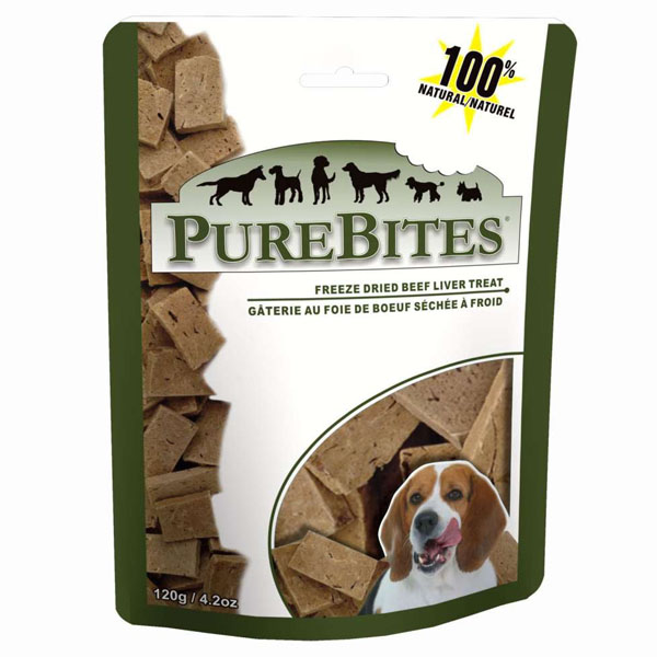 PureBites Dog Treats - Beef Liver