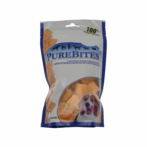 PureBites Dog Treats - Cheddar Cheese