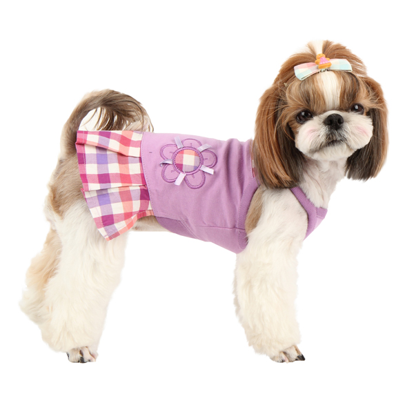 Purity Dog Dress by Puppia - Purple