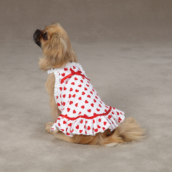 Queen of Hearts Dog Dress