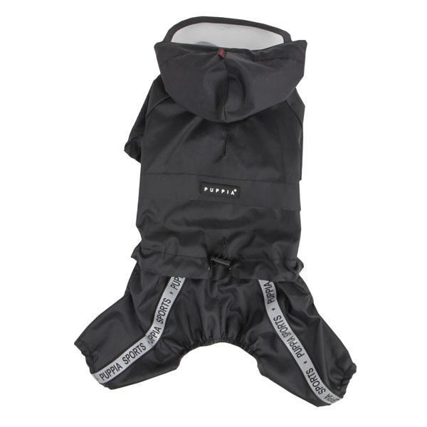 Race Track Rainsuit by Puppia - Black
