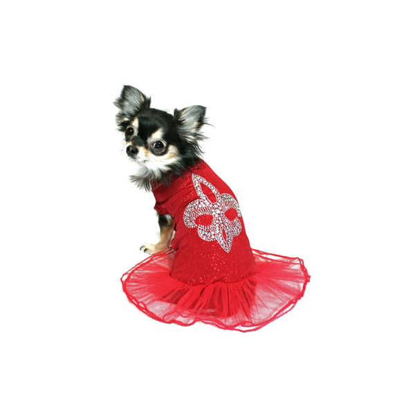 Red Ballerina Dress by Hip Doggie