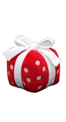 Red Christmas Gift Toy by Hip Doggie
