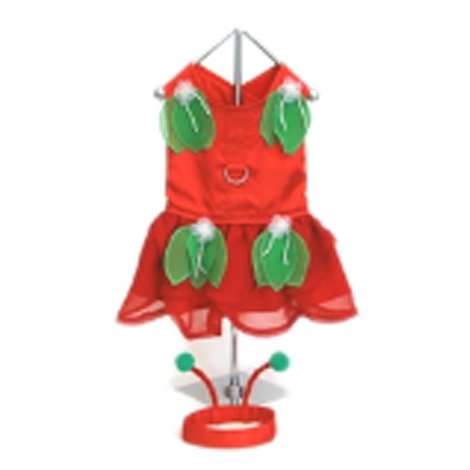 Red Fairy Dog Harness Costume Dress