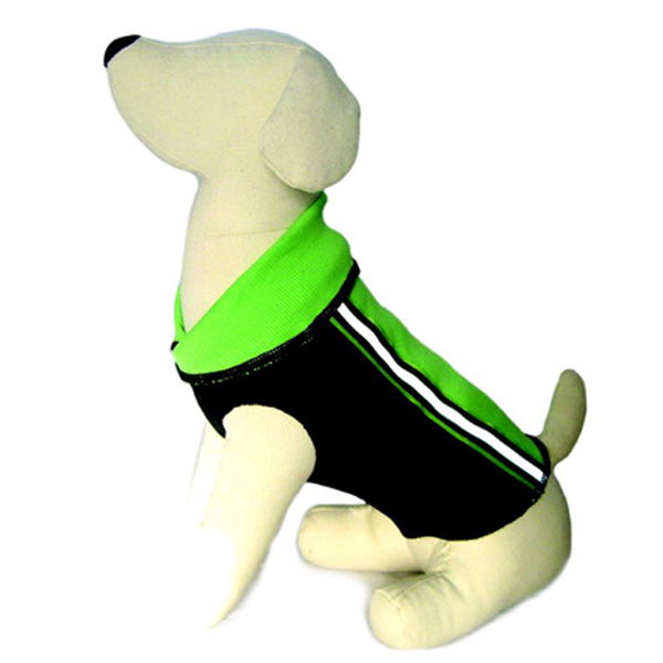 Reflective GLO Wear Dog Pullover - Green