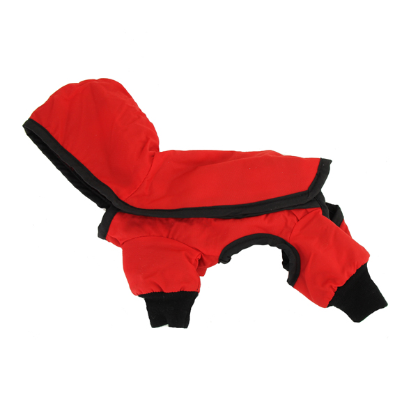 Reversible 4 Leg Snowsuit - Red