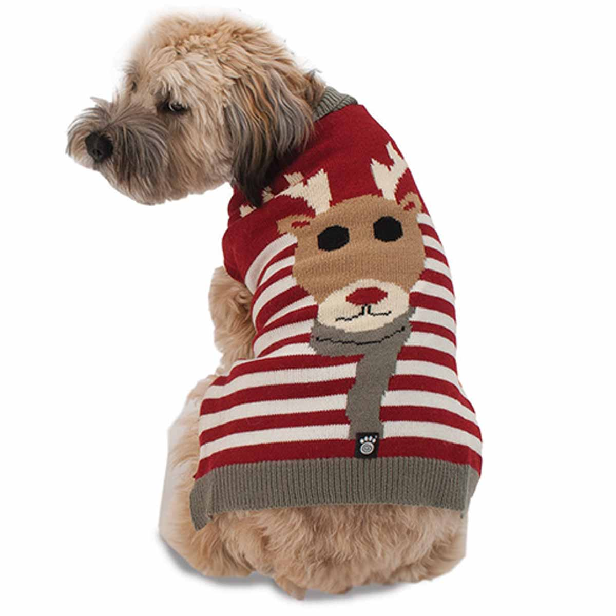 Rudys Reindeer Dog Sweater by Petrageous BaxterBoo