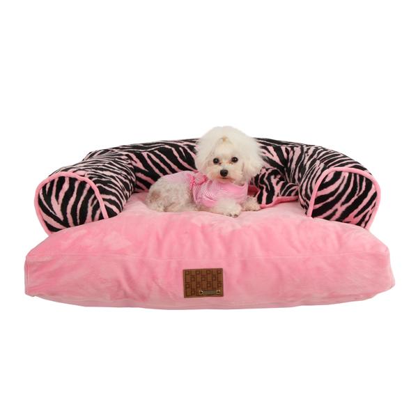 Large Dog Beds Pink