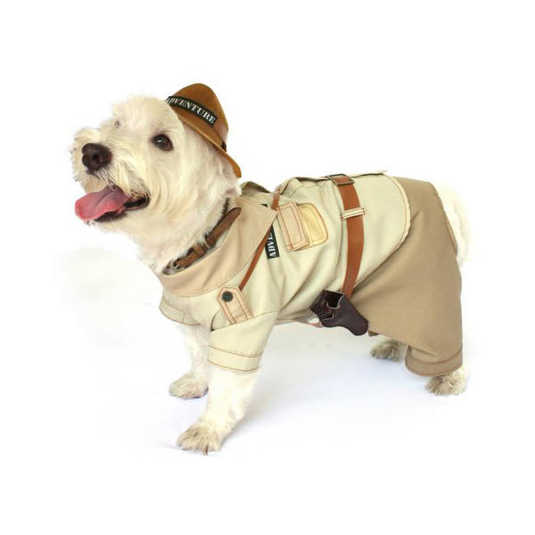 Indiana Bones Dog Halloween Costume