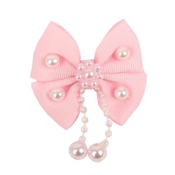 Sally Dog Bow by Pinkaholic - Pink