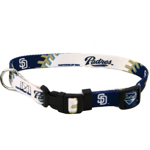 San Diego Padres Baseball Printed Dog Collar