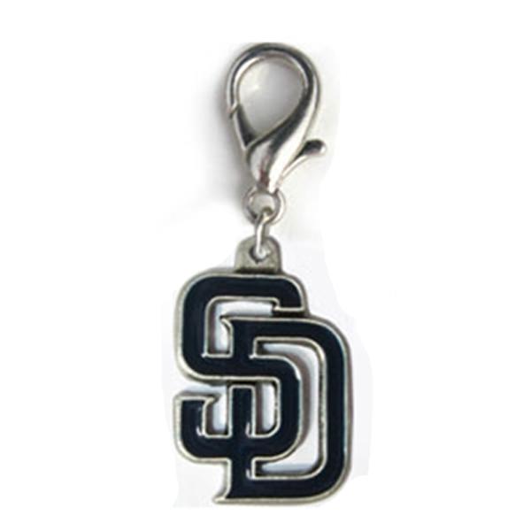 San Diego Padres Logo Dog Collar Charm